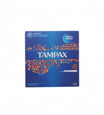 TAMPAX SUPER-PLUS tampón 30...
