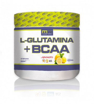 GLUTAMINA + BCAA lemon 500 g