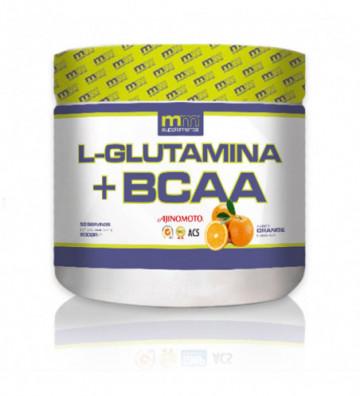 GLUTAMINA + BCAA orange 500 g
