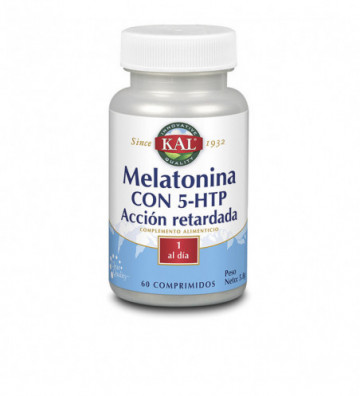 MELATONIN 1,9 + 5HTP - 60...
