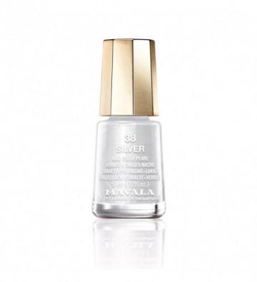 NAIL COLOR 38-silver 5 ml
