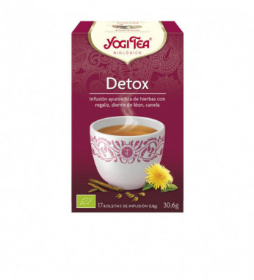 Yogi Tea Bio Cha Detox 17 Saq