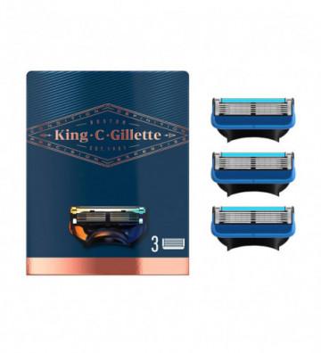 GILLETTE KING shave &...