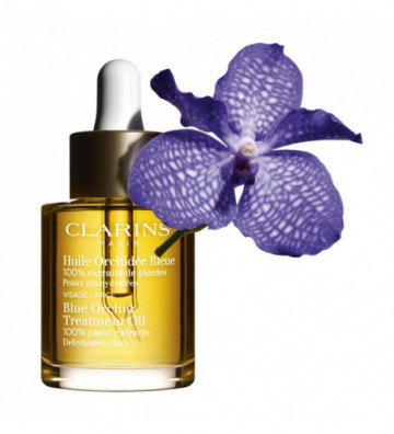 CLARINS BLUE ORCHID...